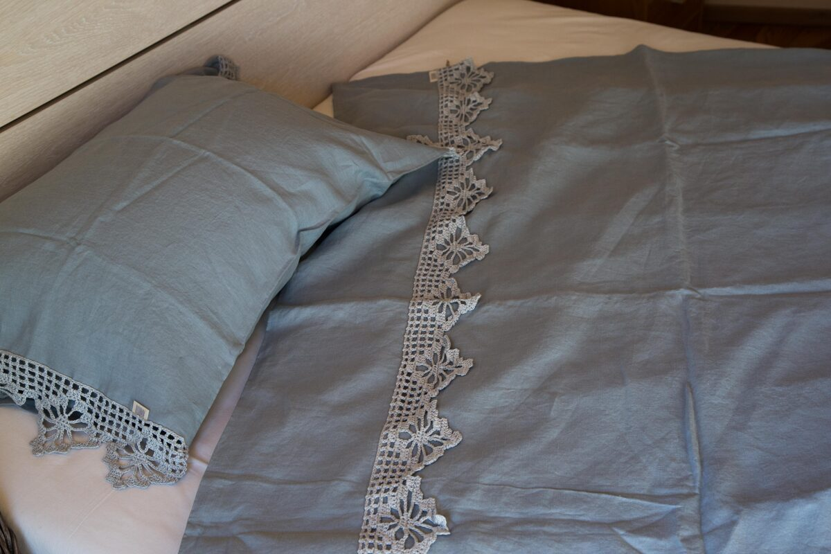gultas veļa Nida sky